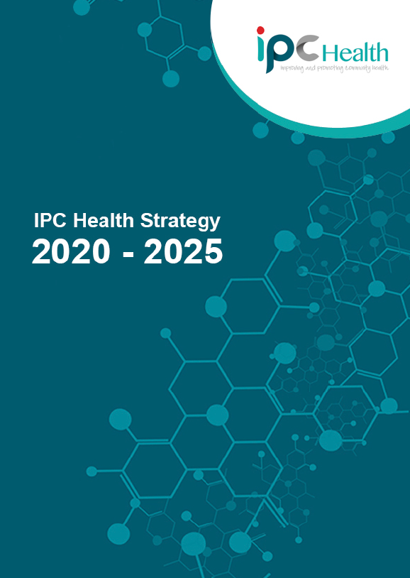 IPC Health Strategy 2020-2025 front page