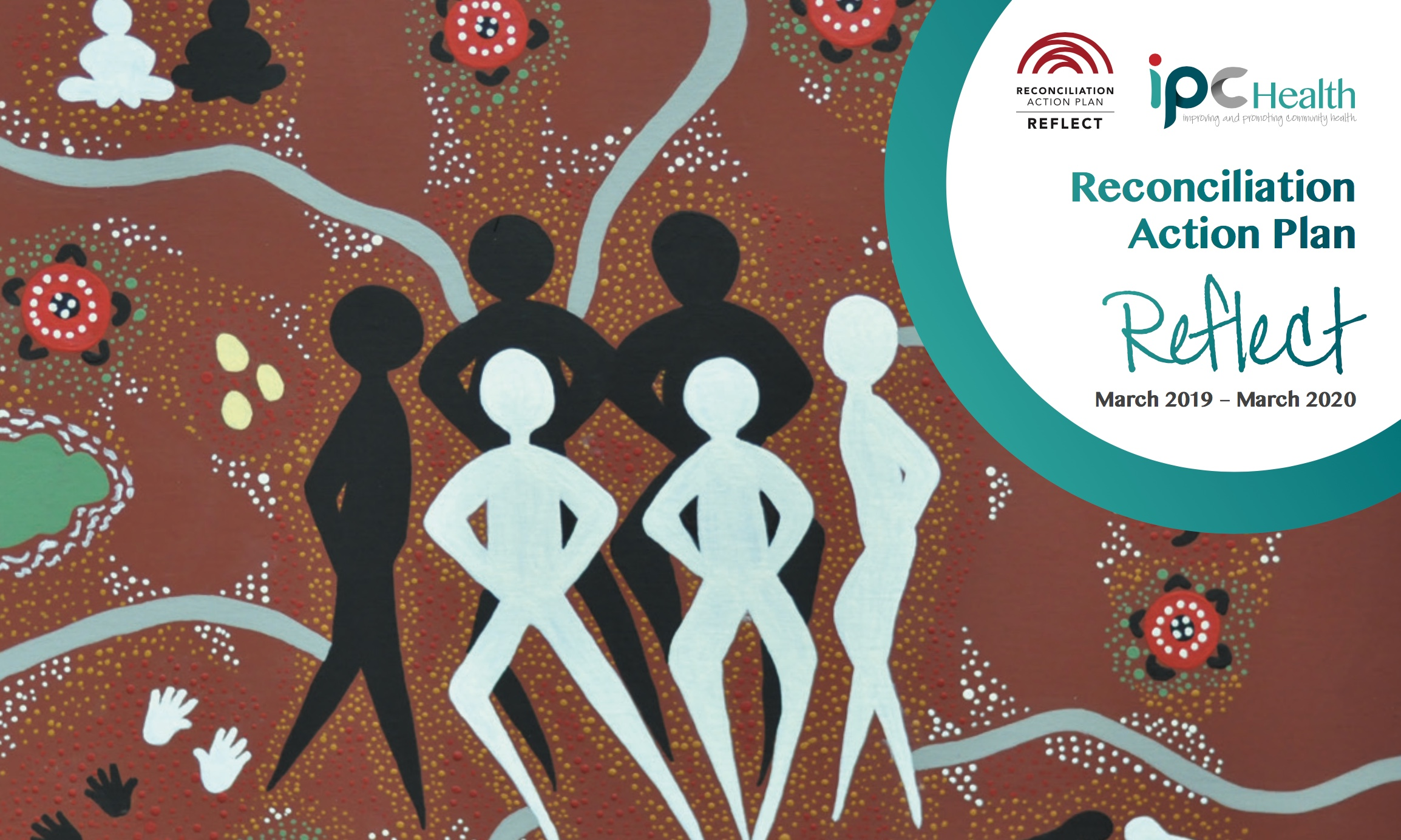 Front page of Reconciliation Action Plan